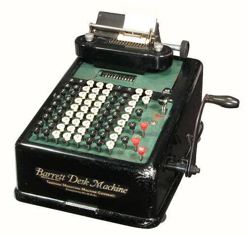 John Wolff's Web Museum - Printing Calculators